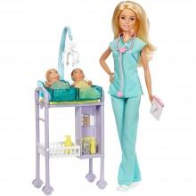 Barbie Детский врач Барби GKH23