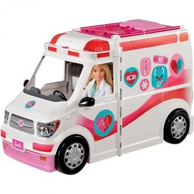 Барби Машина скорой помощи Barbie FRM19