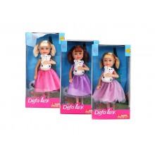 8280 Defa Sairy Style Кукла с питомцем, 14см, в асс.