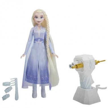 Hasbro Disney Princess E6950/E7002 ХОЛОДНОЕ СЕРДЦЕ 2 Магия причесок Эльза