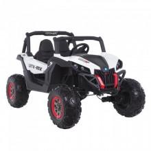 RXL Багги 603 12V/7Ah*2;45W*4(муз,свет,надувные колеса,MicroSD) Белый WHITE
