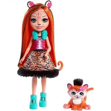 Enchantimals Тигрица Тэнзи Кукла с питомцем FRH39