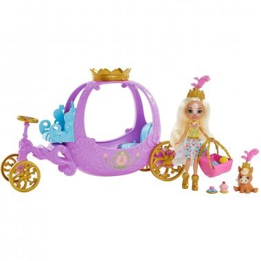 Enchantimals Королевская карета с куклой Пеолой Пони, GYJ16