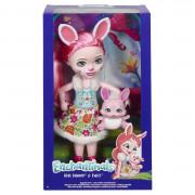 Enchantimals Бри Кроля большая кукла с питомцем FRH51