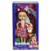Enchantimals Фелисити Лиса большая кукла с питомцем FRH51