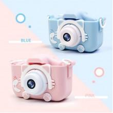 Детский цифровой фотоаппарат GSMIN Fun Camera Kitty
