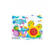 Набор для детской лепки «Шариковый пластилин 6 цветов» - GENIO KIDS