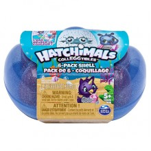 """Hatchimals 6046155 Хэтчималс набор из шести коллекционных фигурок """"Ракушка"""""""