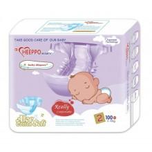 Подгузники детские Heeppo Baby №2 3-6 кг (100шт.)