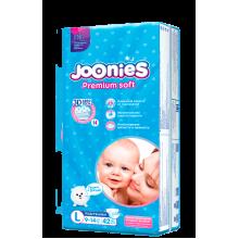 Подгузники Joonies Premium Soft подгузники L 42, 9-14 кг