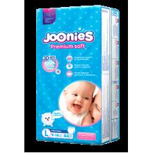 Joonies Premium Soft подгузники-трусики L44, 9-14 кг