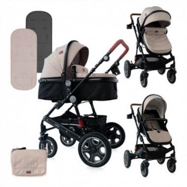 Детская универсальная коляска Lora 2в1, расцветки в ассортименте