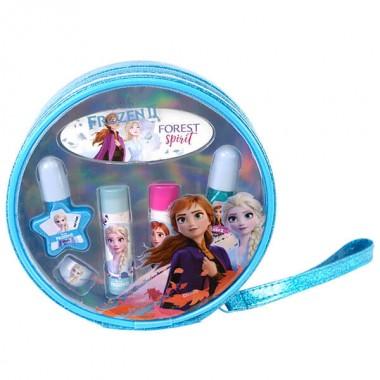 Markwins 1599007E Frozen Игровой набор детской декоративной косметики для губ и ногтей в косметичке