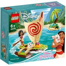 LEGO Disney Princess Конструктор ЛЕГО Принцессы Дисней Морские приключения Моаны  43170