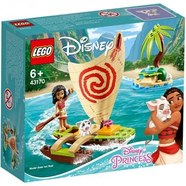 LEGO Disney Princess 43170 Конструктор ЛЕГО Принцессы Дисней Морские приключения Моаны