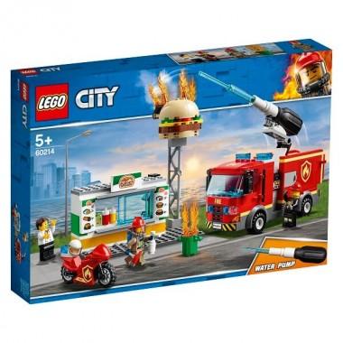 LEGO City Пожарные: Пожар в бургер-кафе