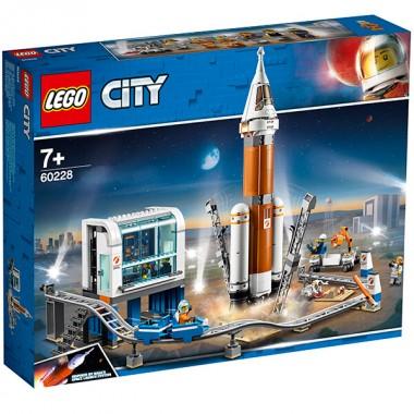 LEGO City Ракета для запуска в далекий космос и пульт управления запуском
