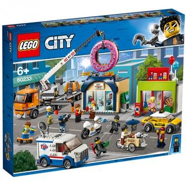 LEGO City Открытие магазина по продаже пончиков
