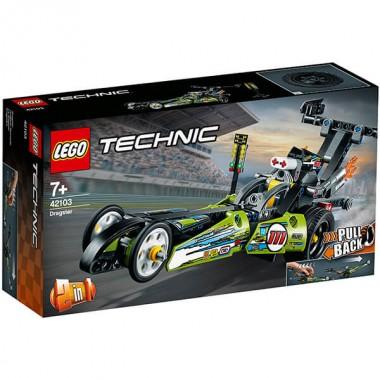 LEGO Technic  Драгстер 42103