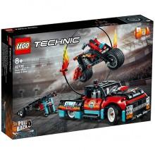 LEGO Technic Шоу трюков на грузовиках и мотоциклах 42106