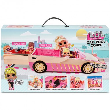 LOL Surprise Кабриолет с джакузи-бассейном для кукол ЛОЛ 565222