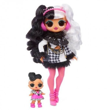 LOL OMG Dollie и кукла DollFace Winter Disco