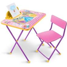 Набор мебели Ника Disney Принцесса (стол складн.с подножк.+пенал,стул)