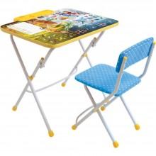 Набор мебели Ника стол+пенал+стул 3–7 лет Феи зимнего леса