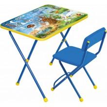 Набор мебели Ника Хочу все знать (стол+мягкий стул)
