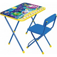 Набор мебели Ника Космос Математика (стол+мягкий стул)