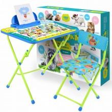 Набор мебели Ника ПУШИСТАЯ АЗБУКА (стол+пенал+мягкий стул)