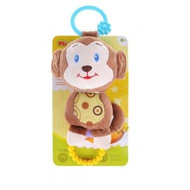 """Mioshi Toys Игрушка погремушка-прорезыватель Mioshi """"Весёлые друзья"""""""