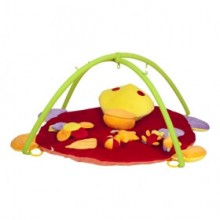 """Mioshi Toys MIO0302-040 Игровой развивающий коврик Mioshi """"Удивительный мир""""  (85*85*45 см, подвесн. игрушки)"""