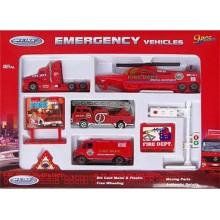 """Игровой набор """"Служба спасения - пожарная команда"""" 9 шт в наборе"""