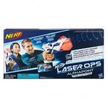 Hasbro Nerf E2281 Нерф Игровой набор 2 бластера с аксессуарами Лазер Опс Альфапоинт