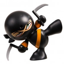 Пукающий Ниндзя черный с серпами, Кунг Фуу Fart Ninjas 36998