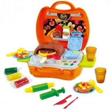 PlayGo 8805 Набор для творчества с пластилином в оригинальном чемоданчике - Кухня