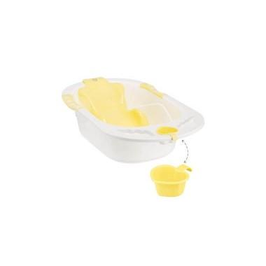 "Ванна детская Happy Baby ""BATH COMFORT"", (yellow)"