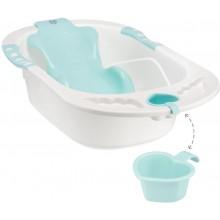 Ванна детская Happy Baby BATH COMFORT aquamarine  00-76088