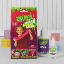 """Набор для изготовления слайма """"Лаборатория"""" Slime розовый"""