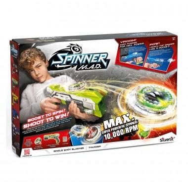 Бластер Spinner Mad одиночный Зеленый 86302
