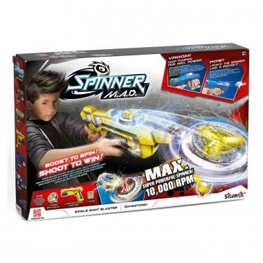 Бластер Spinner Mad одиночный Желтый 86303