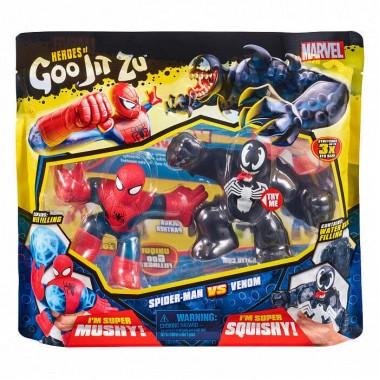 Гуджитсу Человек-Паук и Веном набор тянущихся фигурок Goo Jit Zu 38390