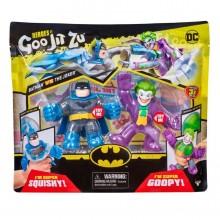 Гуджитсу Бэтмен и Джокер набор тянущихся фигурок GooJitZu 38685