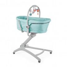 Кроватка-стульчик Baby Hug 4-в-1 Aquarelle Chicco