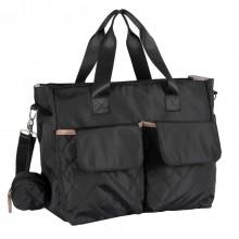 Дорожная сумка для мамы чёрная 2020 Осень-Зима, Chicco