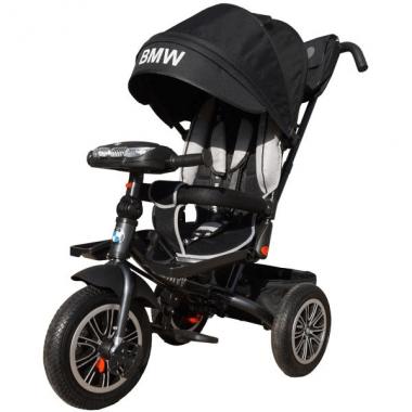 Велосипед трёхколёсный, черный, BMW