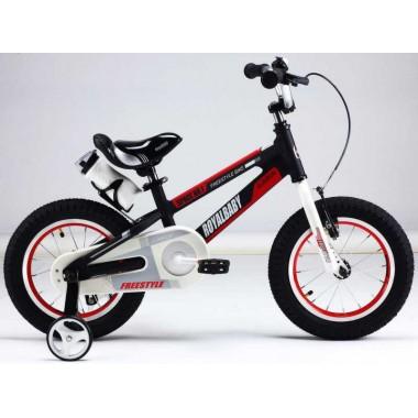 """ROYAL BABY Велосипед двухколесный SPACE NO.1 ALLOY 16"""" Черный BLACK"""