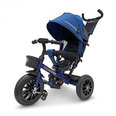"""Велосипед 3кол. Lexus trike, надув.12 и 10"""", темно-синий"""