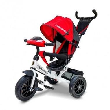 """Велосипед 3кол. Lexus trike, надув.12 и 10"""", красный с белым"""